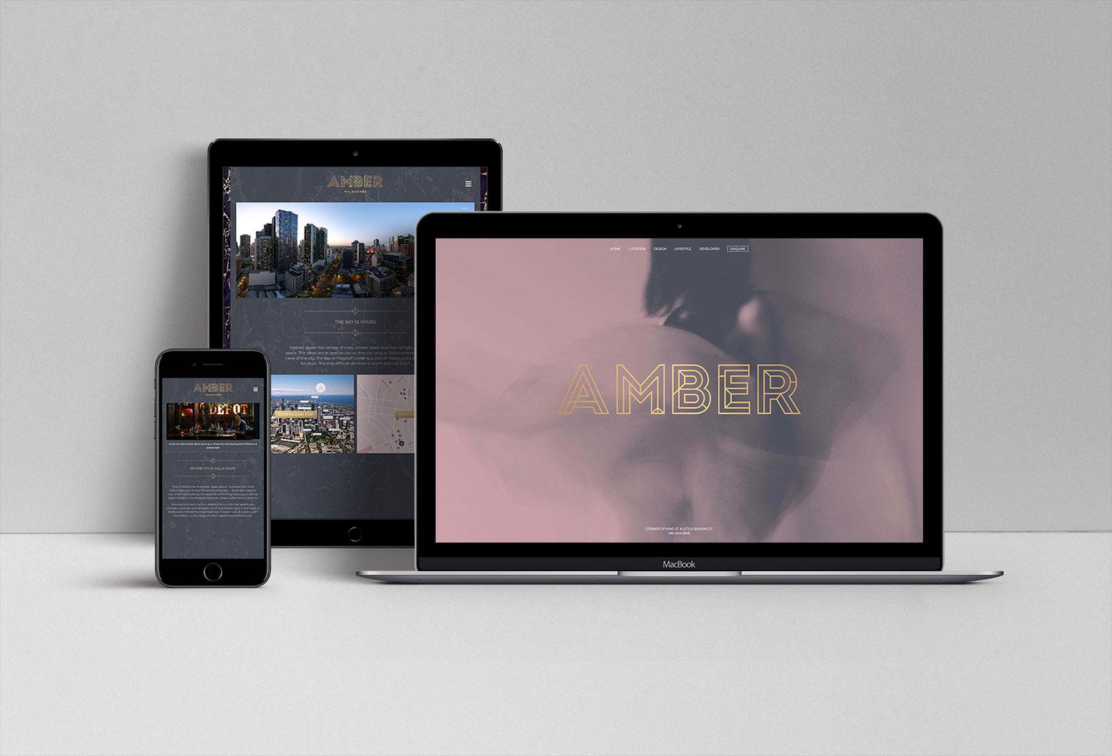 Amber Digital Web