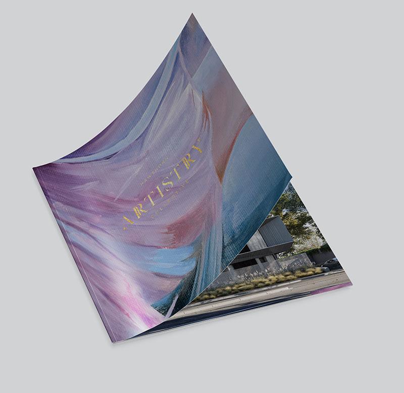 Artistry Hawthorn Brochure Mockup