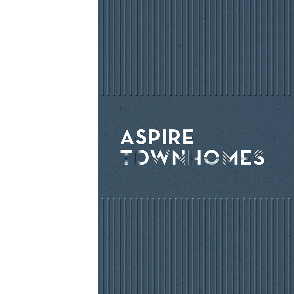 Aspire Townhomes brochure