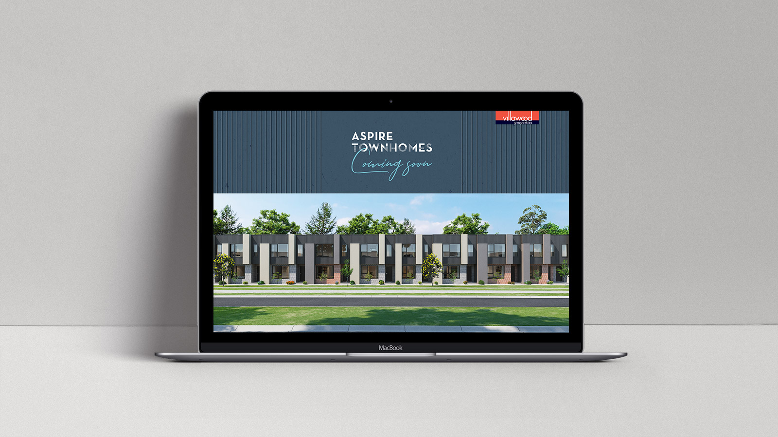 Aspire Townhomes website