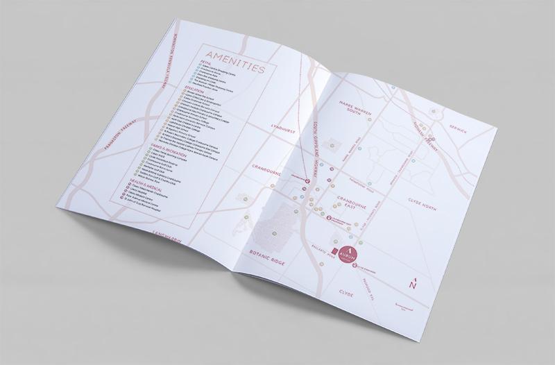 Aurum brochure Amenities Map