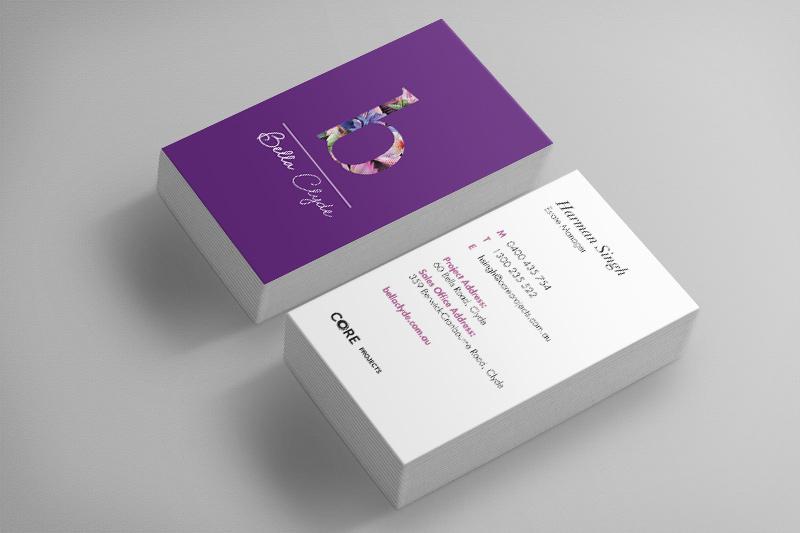 Bella business card
