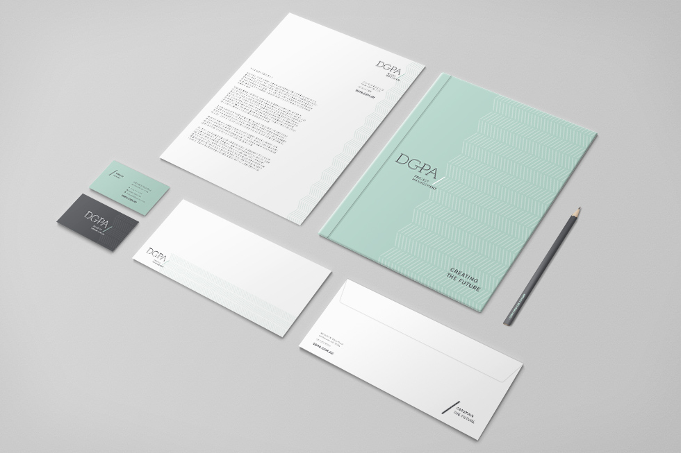 DGPA Corporate Stationery Design