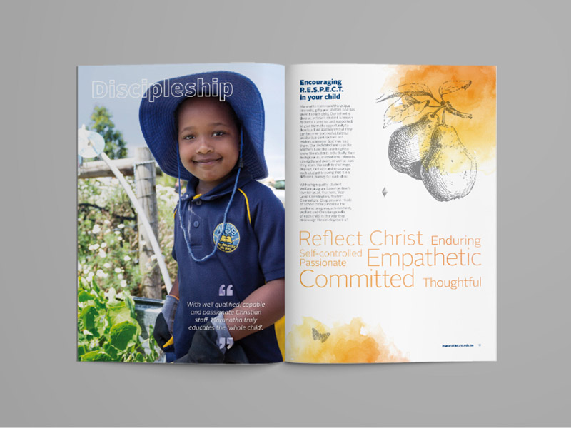 Maranatha Christian School Brochure
