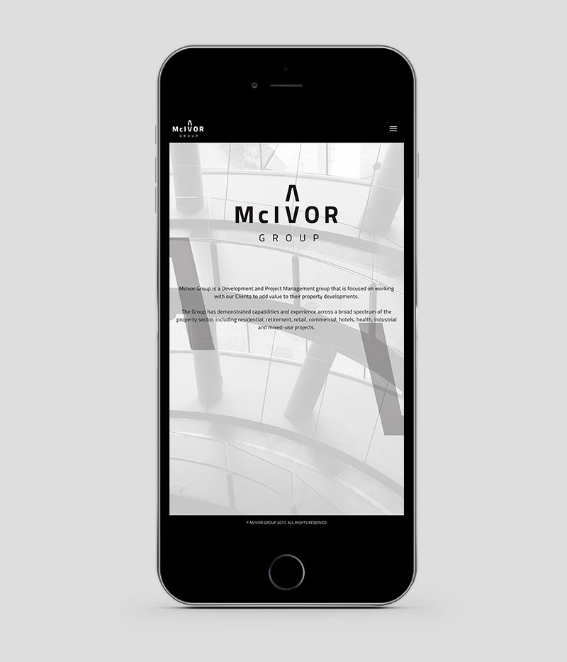 McIvor Group Responsive Website