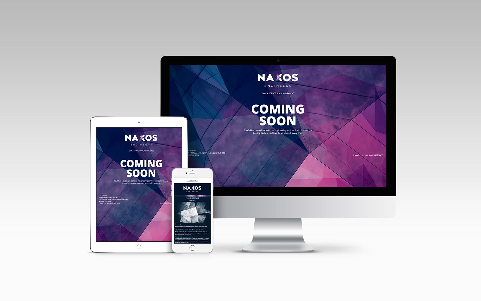 Naxos Engineers Website Design Development
