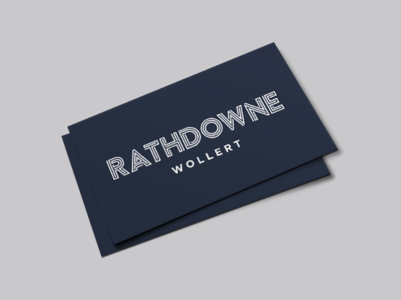 Rathdowne business card
