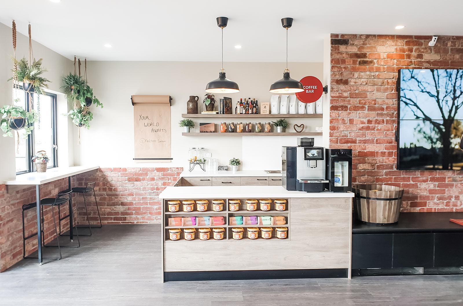Redstone Sales Office Coffee Bar