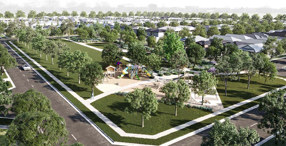 Willow Springs Park Render
