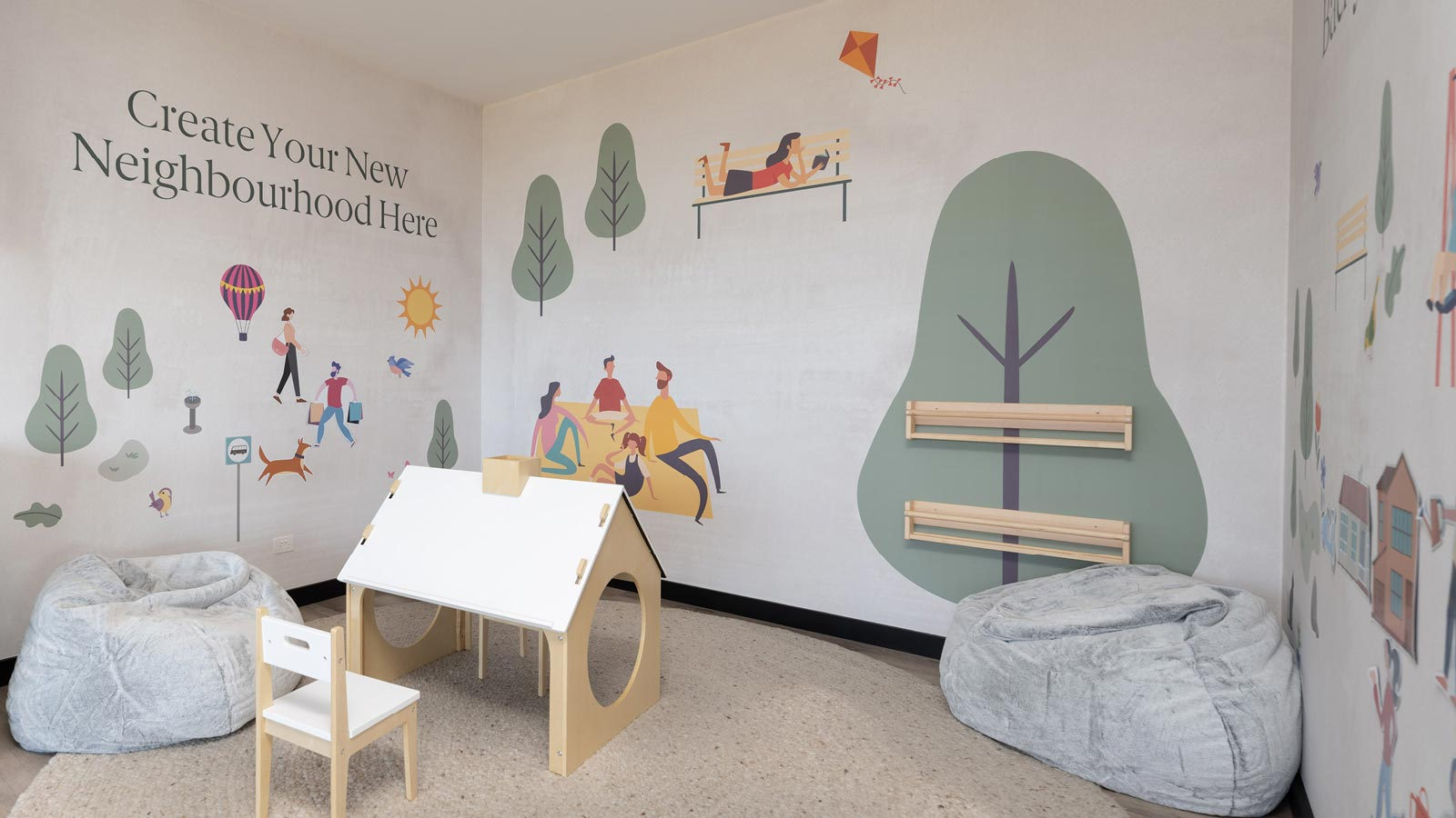 Willow Springs Sales Office Kids Zone