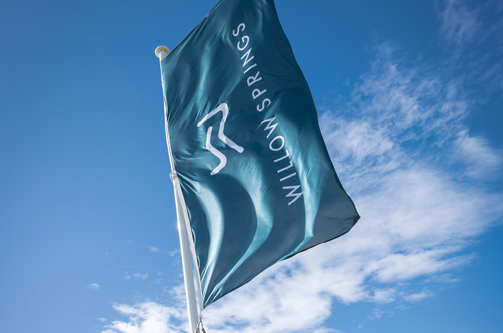 Willow Springs Sales Office Flags